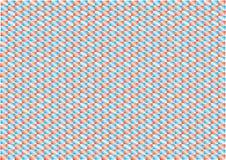 抽象backgroud红色和蓝色 皇族释放例证