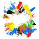 抽象background2颜色 向量例证