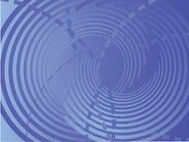 抽象backround蓝色向量 向量例证