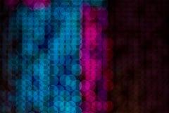 抽象bokeh数字式背景为庆祝节日 免版税图库摄影