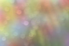 抽象bokeh柔和的淡色彩 库存照片