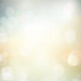抽象bokeh模糊的光点背景 免版税库存图片