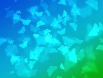 抽象bokeh蝴蝶本质墙纸 皇族释放例证