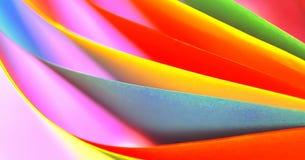 抽象colourfull纸张 库存照片