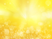 抽象defocused光,闪耀的假日bokeh背景wi 免版税库存照片