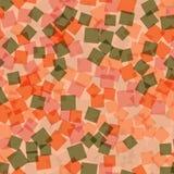 抽象digitall例证模式正方形 库存图片