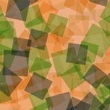 抽象digitall例证模式正方形 免版税库存图片
