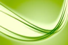 抽象eco波浪设计 免版税库存照片