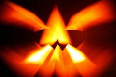 抽象en hallowe南瓜 图库摄影