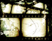抽象filmstrip 免版税库存照片