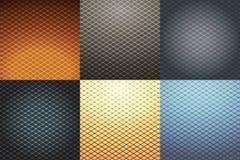 抽象geometricall背景集合 免版税库存照片