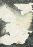抽象grunge纹理水彩 免版税库存图片