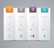 抽象infographics模板设计 免版税图库摄影