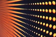 抽象LED光 免版税库存图片