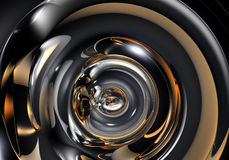 抽象metall管 库存照片