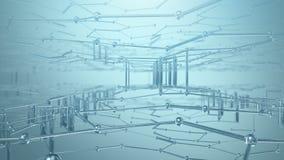 抽象Nanotech背景 影视素材