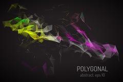 抽象Polygonals 图库摄影