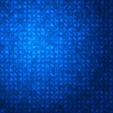 抽象techno深蓝闪耀的背景 库存照片