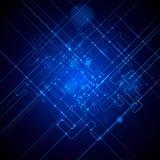 抽象techno背景 图库摄影