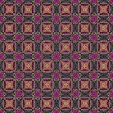 抽象tileable规则装饰马赛克 免版税库存图片