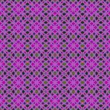 抽象tileable规则装饰马赛克 免版税库存照片