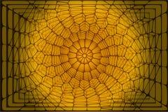 抽象voronoi背景 免版税库存图片