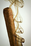 抽雪茄2 库存照片