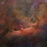 担任主角在空间的星云 美国航空航天局装备的这个图象的元素 库存图片