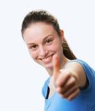 拇指的 免版税库存照片
