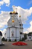 维拉、娜杰日达、他们的索非亚的Lyubov和母亲寺庙在Bagrationovsk 免版税库存图片
