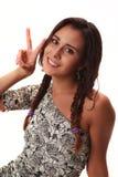 拉丁女孩 免版税图库摄影