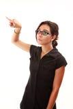 拉丁女孩 免版税库存照片