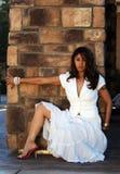 拉丁妇女 免版税库存照片