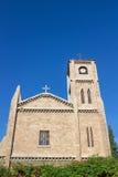 拉丁意大利语天主教在梅尔辛土耳其 免版税库存图片
