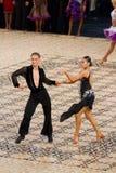 拉丁竞争-舞蹈掌握2012年 库存照片