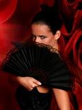 拉丁美州的舞蹈演员 库存照片