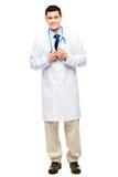 拉丁美洲医生微笑 图库摄影