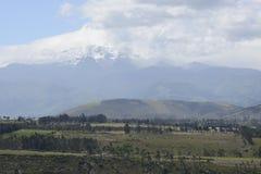 拉丁美洲的美丽如画的山景 免版税库存照片