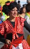 拉丁舞蹈家 图库摄影