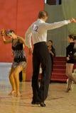 拉丁语的舞蹈演员 免版税库存图片