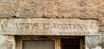拉丁语 库存图片