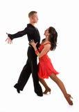 拉丁语06个舞厅的舞蹈演员 图库摄影
