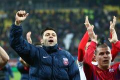 FC Steaua布加勒斯特FC Gaz Metan媒介 免版税库存图片