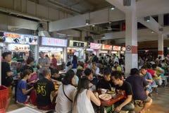 拉乌Pa星期六Foodcourt在新加坡 免版税图库摄影