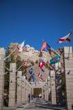 拉什莫尔山纪念碑在南达科他 免版税库存照片