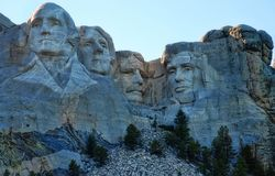 拉什莫尔山美国 免版税库存照片
