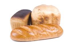 拉伊和麦子面包 免版税库存照片