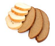 拉伊和麦子面包 图库摄影