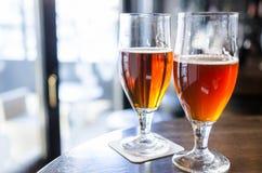 拉伊啤酒和熏制的啤酒 免版税图库摄影