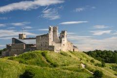 拉克韦雷城堡,爱沙尼亚废墟  免版税图库摄影